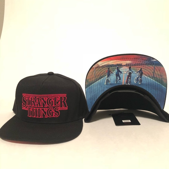 Netflix Stranger Things SnapBack Hat 0da9ebe83db